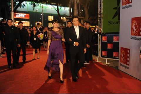 Zhang Ziyi and Lee Byung Hun
